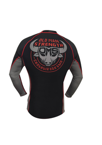 The Black and Red Rash Guard