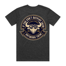 Old Man Strength T-Shirt - Outwork Them