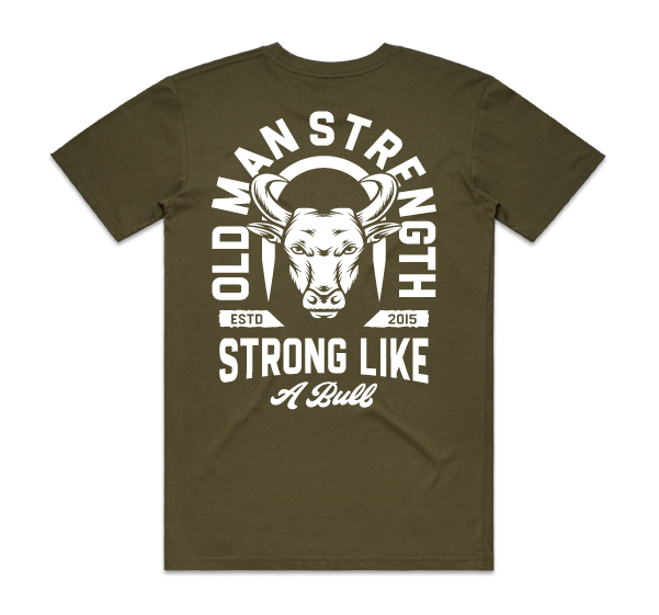 Old Man Strength T-shirt - Spike
