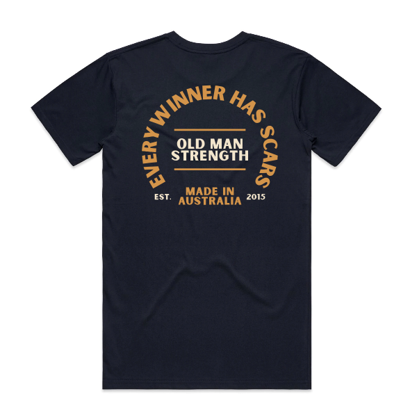 Old Man Strength T-shirt - Winners