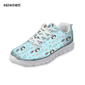 Nurse Sneakers with Cute Cartoon