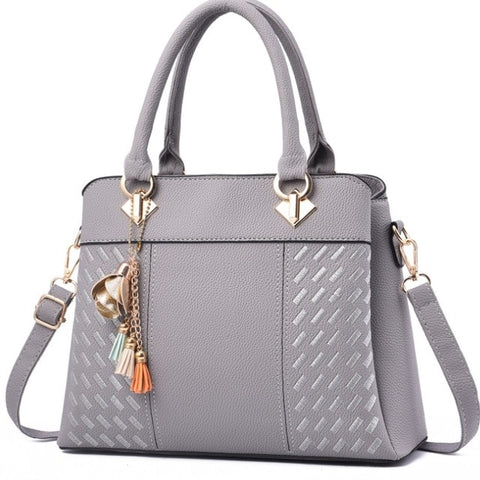 Luxury Black Handbag with Cross-body Design