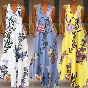 Fashionable Floral Printed Sundresses