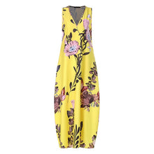 Load image into Gallery viewer, Fashionable Floral Printed Sundresses