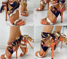 Load image into Gallery viewer, Stiletto Sexy Fashion High Heels Sandals with Peep Toe