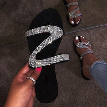Load image into Gallery viewer, Rhinestone Sandals