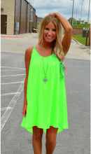 Load image into Gallery viewer, Fluorescence Chiffon Voile Dress