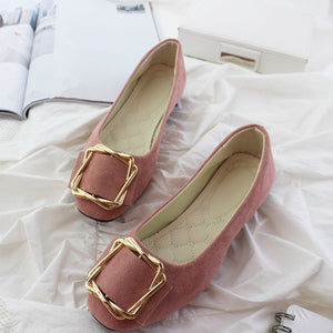 Fashionable Candy Color Loafers