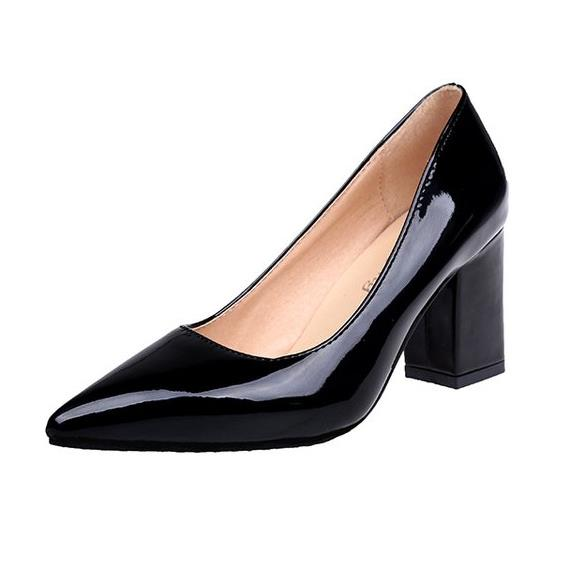 Pointed Toe Shallow Mouth Shoes for Women