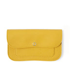 Gele leren portemonnee, Flash Forward, Yellow