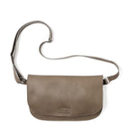 Lichtbruine leren verstelbare crossbody tas, Lazy Boy, Moss used look