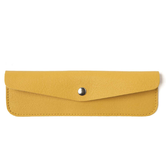 Gele leren etui, Pen Pal, Yellow