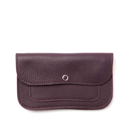 Portemonnee, Cat Chase Medium, Aubergine