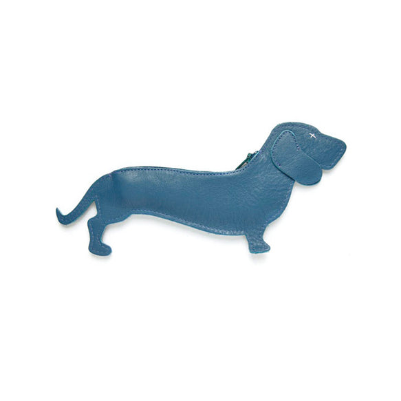 Etui, Good Dog, Faded Blue