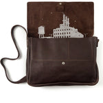 Tas, Big Business, Dark Brown used look