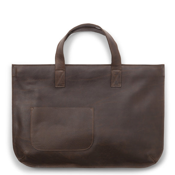 Tas, Elephant Joke, Dark Brown used look