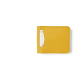 Gele leren heren portemonnee, Small Fortune, Yellow