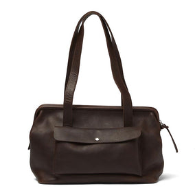 Tas, Room Service, Dark Brown used look