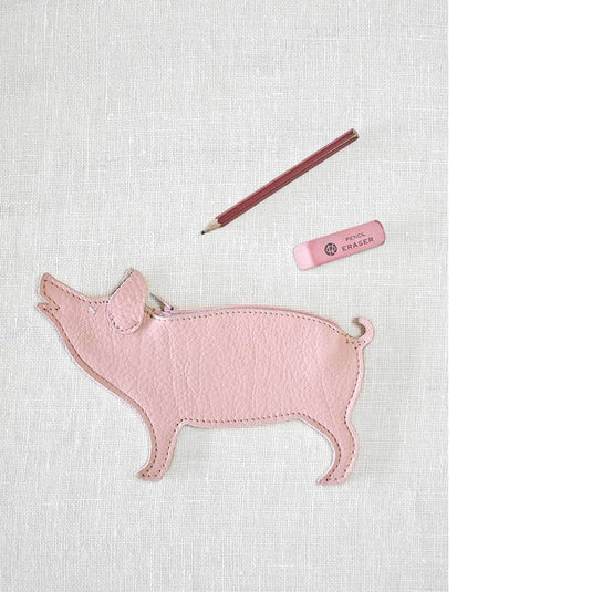 Etui, Piggy Bank, Soft Pink