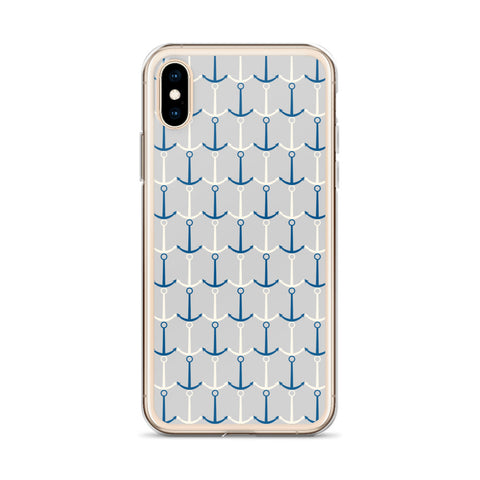 Anchored Nautical iPhone Cases