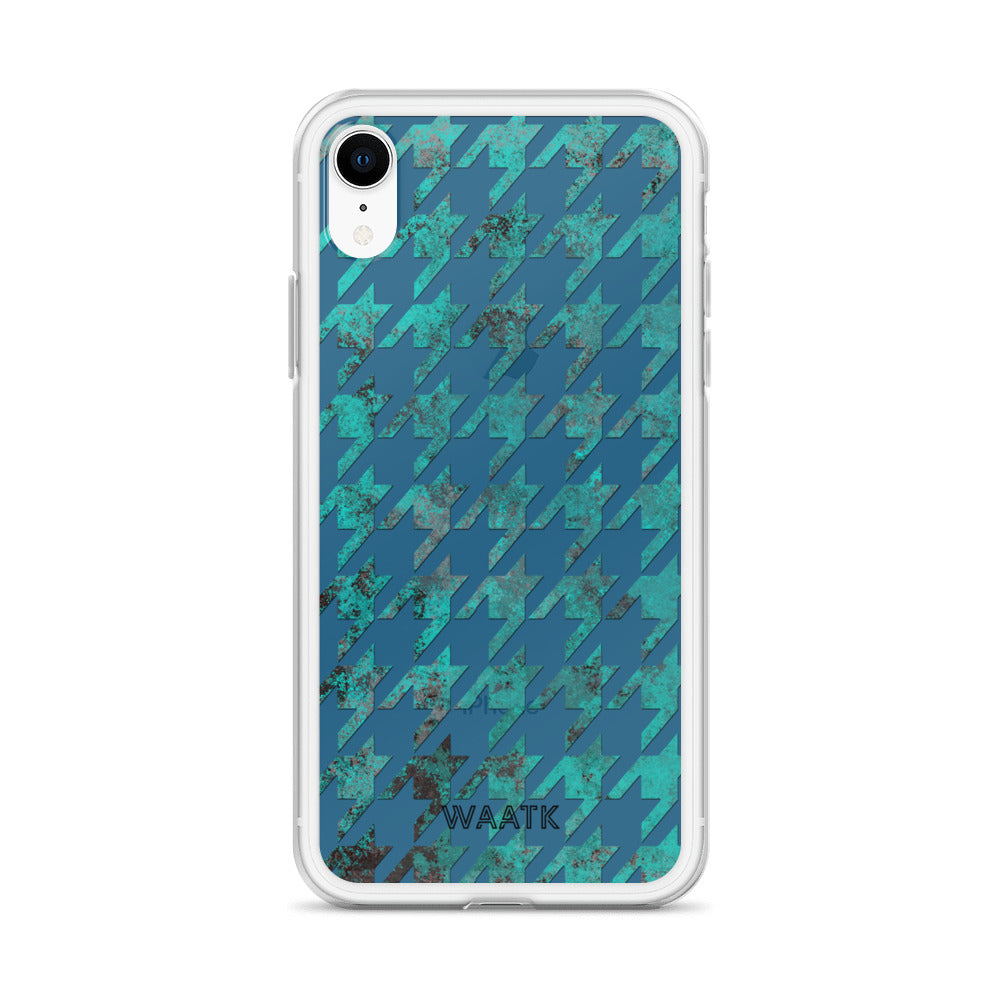 Rustic Houndstooth iPhone Cases