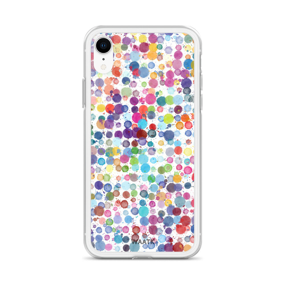 Color Drops iPhone Cases