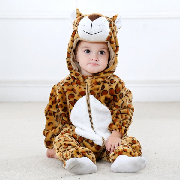 2019 Infant Romper Baby Jumpsuit New born Clothing Hooded