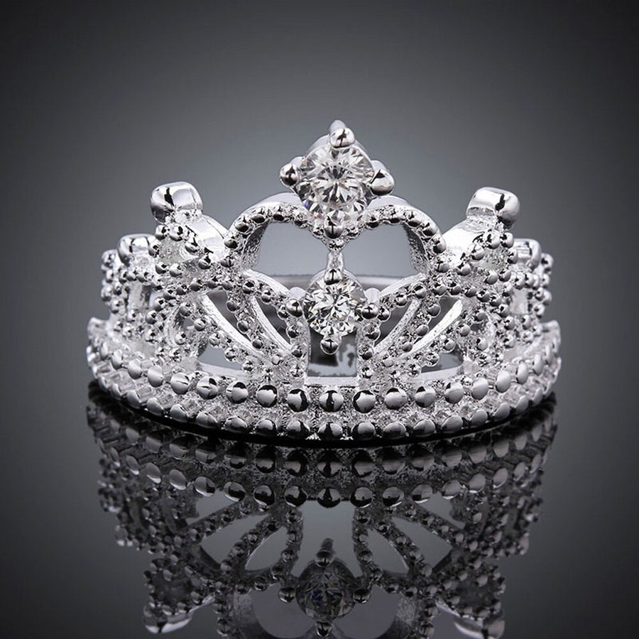 Princess Crown Tiara Ring