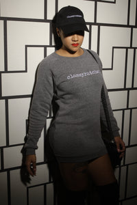 the label tunic sweatshirt