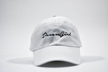 dreamgirl dad hat white