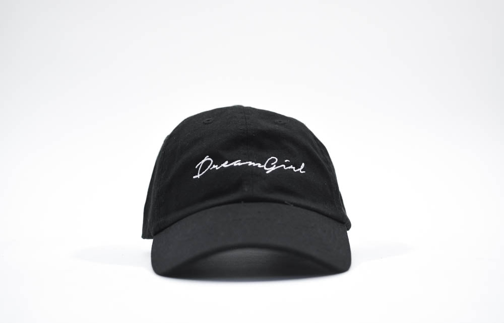 dreamgirl dad hat black & white
