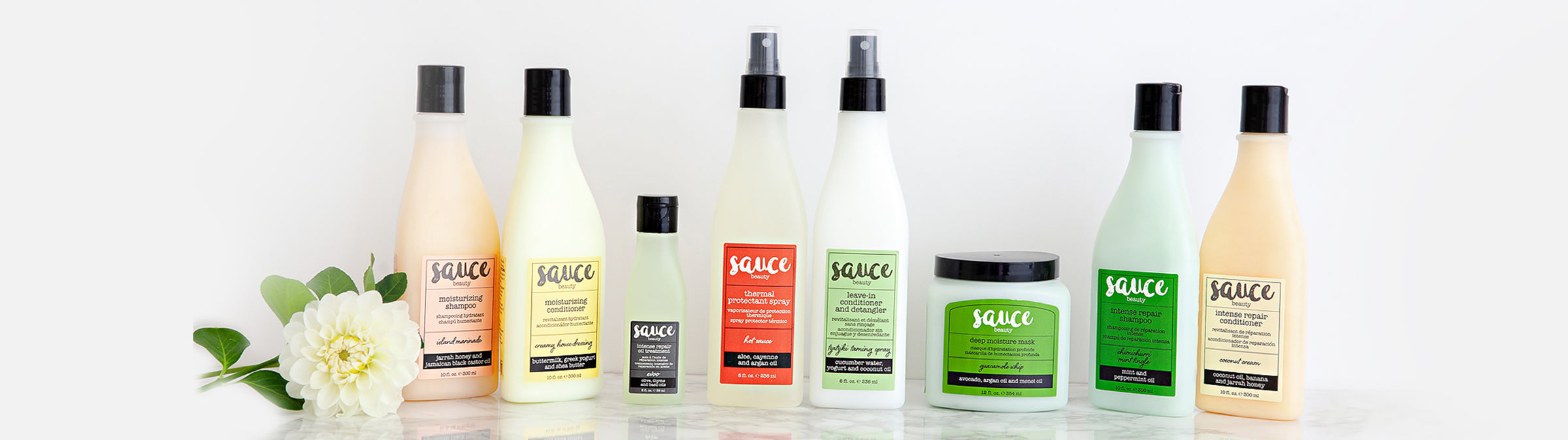 Sauce Beauty products