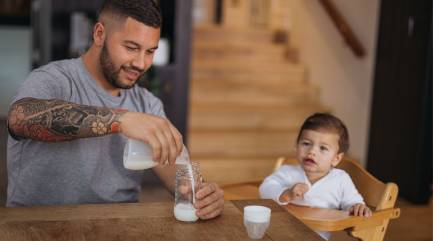 What Dad Can Do to Make Breastfeeding Easier