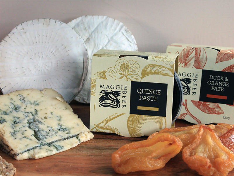 The complete cheese platter from Maggie Beer