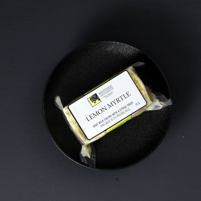Woodside Cheese Wrights, Lemon Myrtle Chevre 150g
