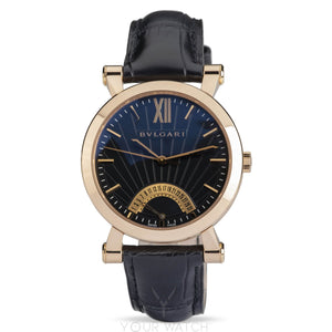 Bvlgari-Bvlgari Sotirio Bulgari Retrograde Date 42mm Mens Watch-101705-$12500.00
