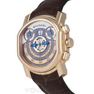 Bvlgari Daniel Roth Papillon Voyageur GMT Jumping Hours 101850