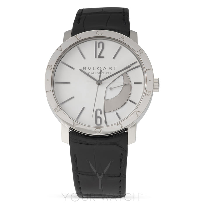Bvlgari Calibro 131 White Dial Men's Watch