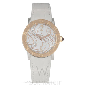 Bvlgari Diamonds Dial Automatic Ladies Watch 102027