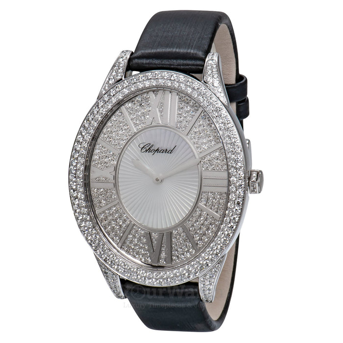 Classic White Gold Ladies Watch