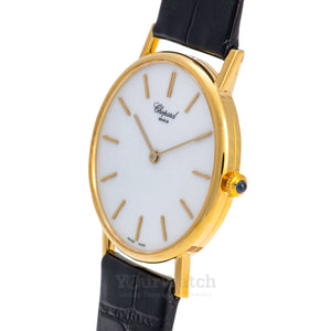 Chopard-Chopard L.U.C Classic 18k Yellow Gold Quartz 32mm Ladies Watch-161091-0001-$2780.00