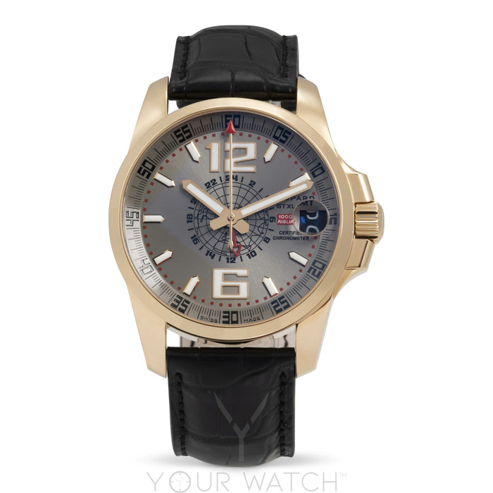 Chopard Mille Miglia GT XL GMT 18k Rose Gold Mens Watch