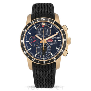 Chopard Mille Miglia 18 Carat Rose Gold Chronograph Men's Watch 161288-5001