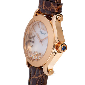 Chopard Happy Sport Round Quartz 30mm Ladies Watch 274189-5001