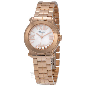 Chopard Happy Sport Round Quartz 30mm Ladies Watch 274189-5003