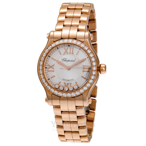 Chopard Happy Sport Round Quartz 30mm Ladies Watch 274893-5004