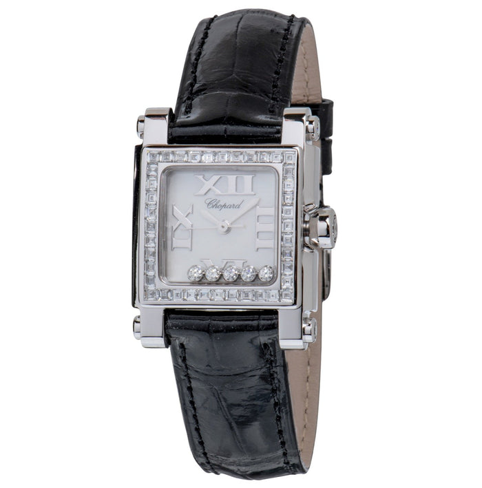 Chopard Happy Sport Square Quartz Ladies Watch