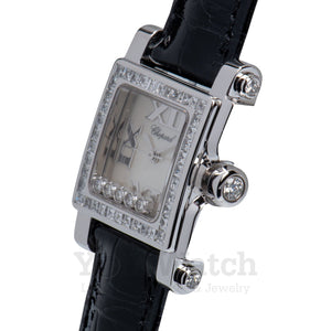 Chopard Happy Sport Square Quartz Ladies Watch 275349-1001