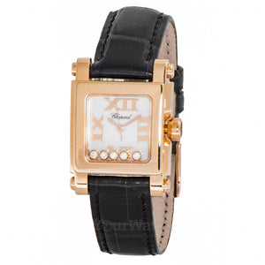 Chopard Happy Sport Square Quartz 27mm Ladies Watch 275349-5001