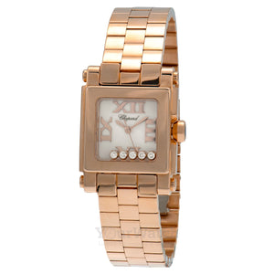 Chopard Happy Sport Square Quartz 32mm Ladies Watch 275349-5002